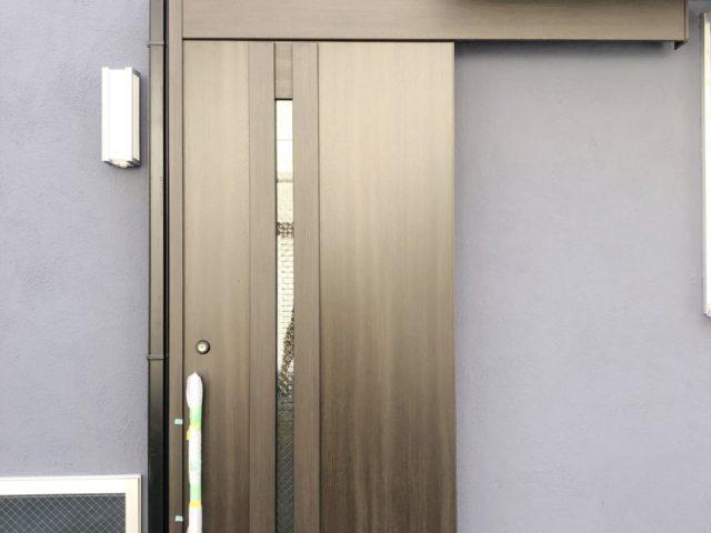 リフォームで施工しやすいアウトセット式の玄関ドア